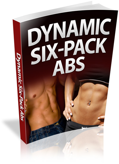 image of book cover with man and woman displying their dynamic six pack abs