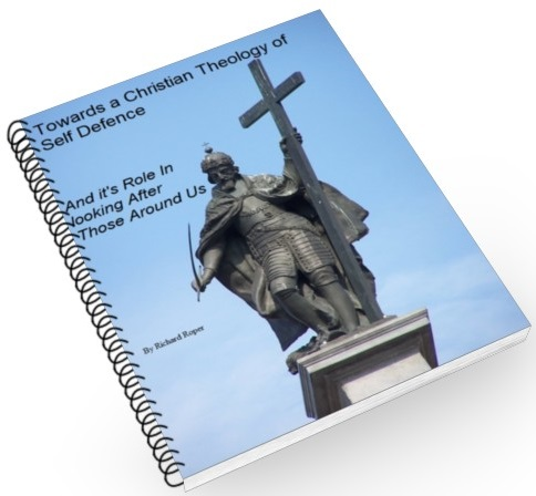 image of king Zygmunt III And Title cover page for Towards A Christian Theology Of Self Defense
